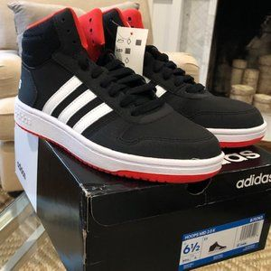 Adidas Hoops Mid Sneakers (Brand new)